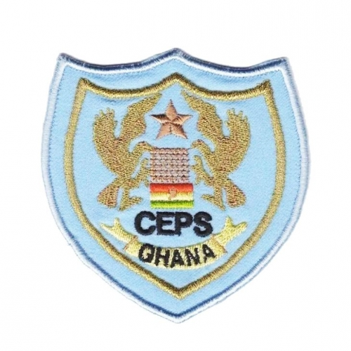 Ghana CEPS Military Embroidery Ranks