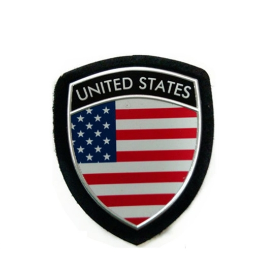 Military Shoulder Arm Badge Soft Plastic PVC Patch
