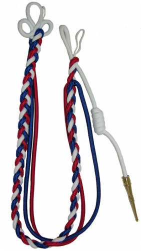 Fourragere is a military award shaped as a braided cord