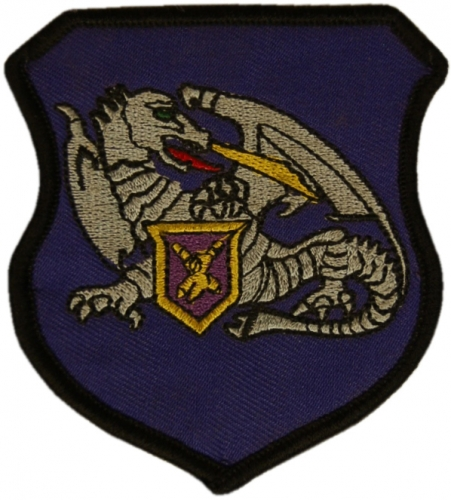 Patch Training Center Combat Support Armed Force Estonia