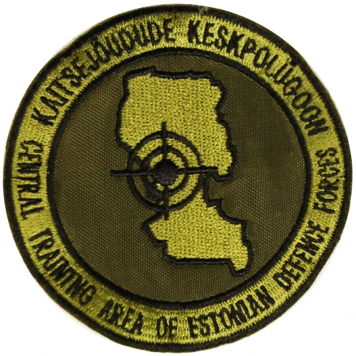 Central Site Patch of Armed Forces of Estonia
