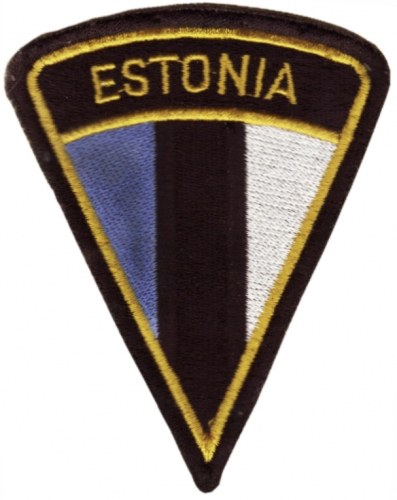 General Patch of Estonian Defense Forces. Model 1991