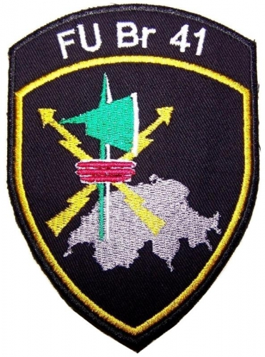 PATCH OF THE SWISS GROUND FORCES SUPPORT BRIGADE