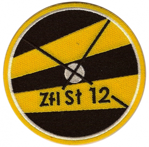 PATCH OF THE 12TH SWISS AIR FORCE AVIATION SQUADRON