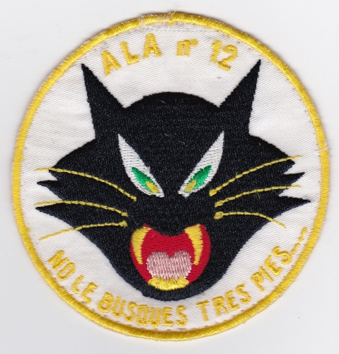 Spanish Patch Air Force Ejercito Del Aire Ala 12 Wing F 4