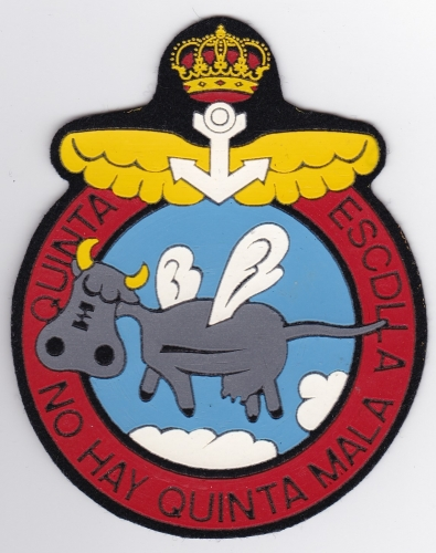 Spanish Patch Naval Air Arm Arma Aerea Armada Espanola 5 Esc Sqn