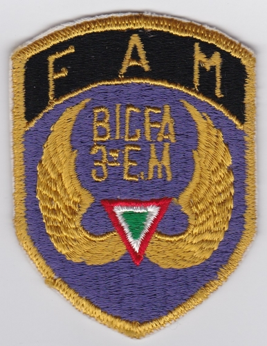Mexican Patch Air Force Fuerza Aerea Mexicana FAM BIGFA 3 EM