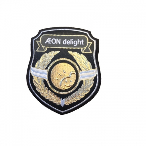 Custom military uniform security printed arm badge