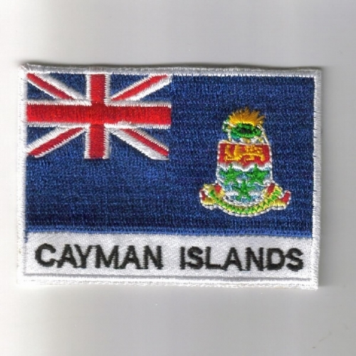 Cayman-Islands flag embroidered patches