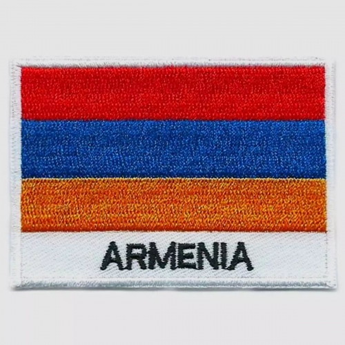 Armenia flag embroidered patches